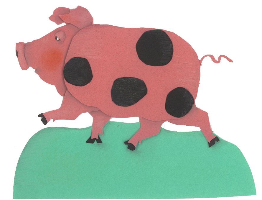 Pig by Dorothy Donohue, children's book illustrator