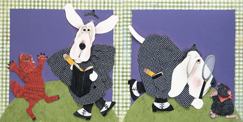Sherlock Bones and the Case of the Missing Cheese by Dorothy Donohue